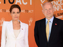 Angelina Jolie and William Hague appear at Summit to End Sexual Violence in London.