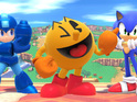 The Namco mascot is the latest character added to the Nintendo fighting game.