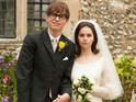 Eddie Redmayne as Hawking and Felicity Jones as Jane in the 'Theory of Everything.'