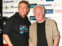 Maloney was joined by Corrie's Bruce Jones to nurture the talent of the younger generation.