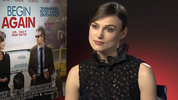 'Begin Again' star Keira Knightley talks about her role in the Alan Turring drama 'the Imitation Game' which  stars Benedict Cumberbatch as the wartime cryptographer.