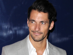 David Gandy at The London Collections: Men