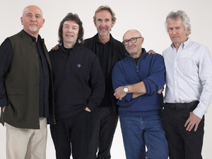 Genesis at the BBC Music press launch