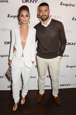 LONDON, ENGLAND - JUNE 15: Cara Santana (L) and Jesse Metcalfe attend the Esquire & DKNY MEN official opening night party for London Collections: Men at one Embankment on June 15, 2014 in London, England. (Photo by David M. Benett/Getty Images for DKNY)