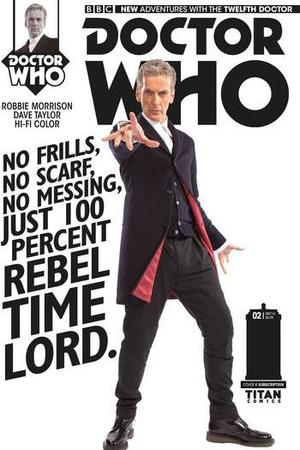 Twelfth Doctor Comic from Titan