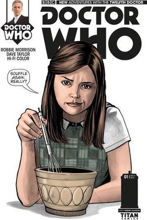 Twelfth Doctor Comic from Titan