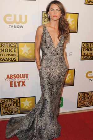 BEVERLY HILLS, CA - JUNE 19: Actress Keri Russell arrives at the 4th Annual Critics' Choice Television Awards at The Beverly Hilton Hotel on June 19, 2014 in Beverly Hills, California. (Photo by Jon Kopaloff/FilmMagic)