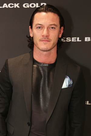 Luke Evans at The London Collections: Men