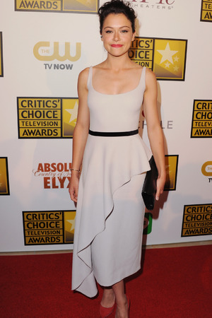 Tatiana Maslany arrives at the 4th Annual Critics' Choice Television Awards