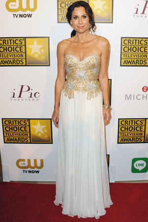 Minnie Driver arrives at the 4th Annual Critics' Choice Television Awards