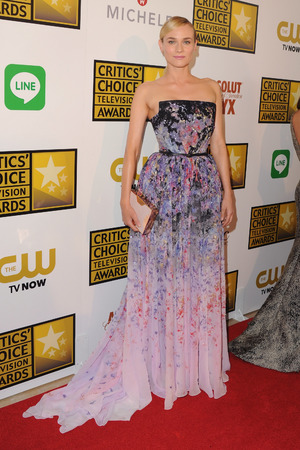 Diane Kruger arrives at the 4th Annual Critics' Choice Television Awards