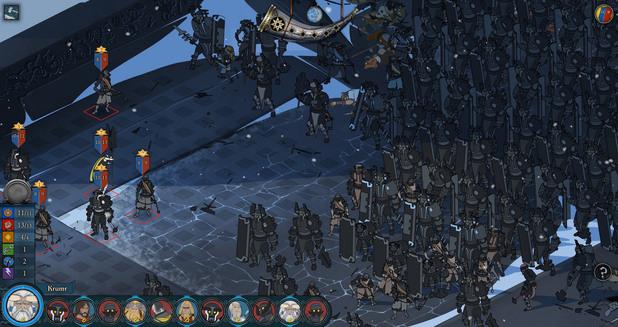 The Banner Saga: Tablet Edition screenshot