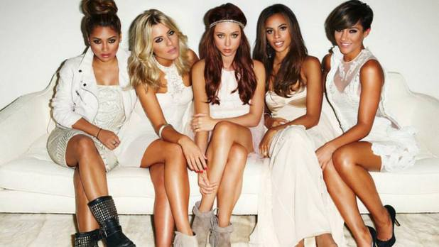 The Saturdays press shot.