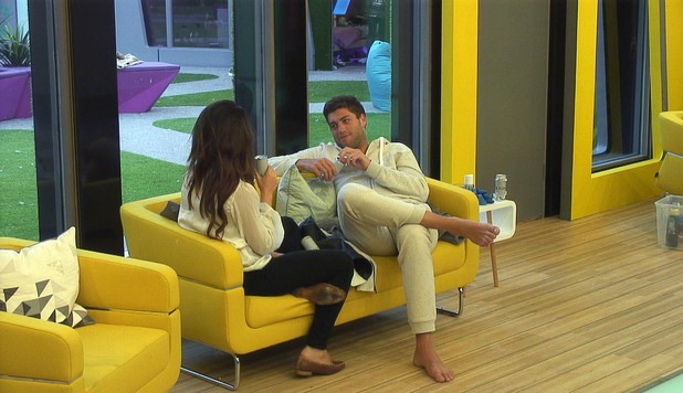 Kimberly Kisselovich and Steven Goode on Big Brother