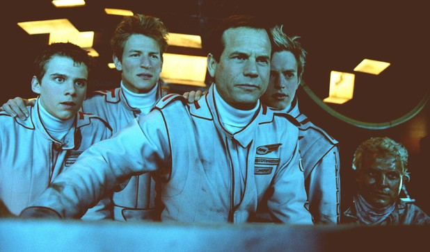 Ben Torgersen, Philip Winchester, Bill Paxton, Dominic Colenso & Lex Shrapne in Thunderbirds (2004)