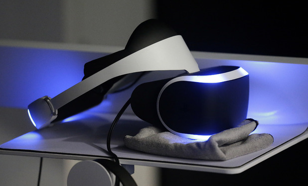 The PlayStation 4 virtual reality headset Project Morpheus
