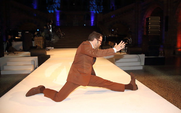 Jeremy Piven at the One For The Boys Fashion Ball at the Natural History Museum, London