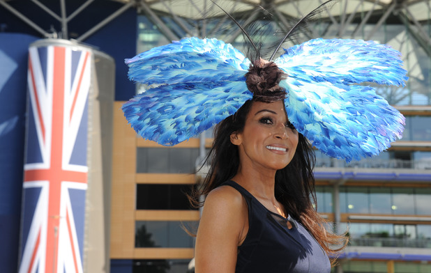 ASCOT, ENGLAND - JUNE 17: Jackie Sinclair attends Day 1 of Royal Ascot at Ascot Racecourse on June 17, 2014 in Ascot, England. (Photo by Stuart C. Wilson/Getty Images)