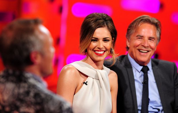 Graham Norton, Cheryl Cole and Don Johnson on The Graham Norton show