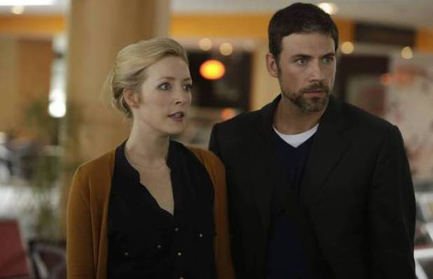 Jennifer Finnegan as Molly, Adam Rayner as Barry in Tyrant