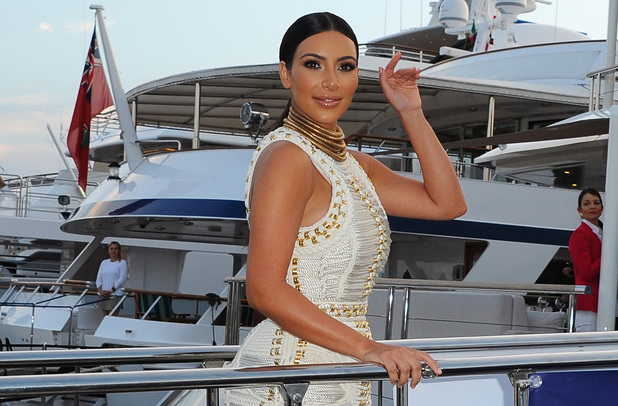 Kim Kardashian attends The MailOnline Cannes Party