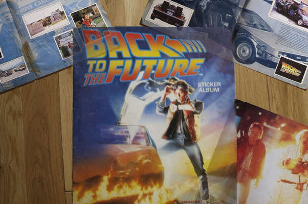 Back to the Future stickers