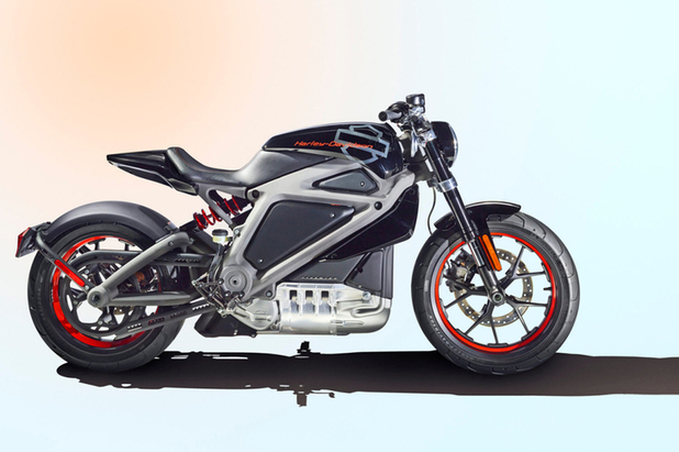 Harley-Davidson's first electric motorcycle