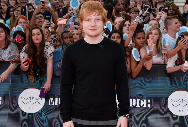 Ed Sheeran at the 2014 MuchMusic Video Awards