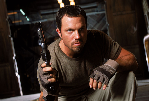 Adam Baldwin as Jayne in Firefly