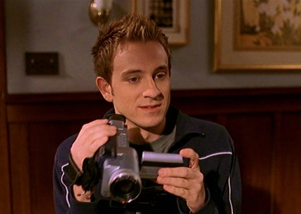 Tom Lenk as Andrew Wells in Buffy