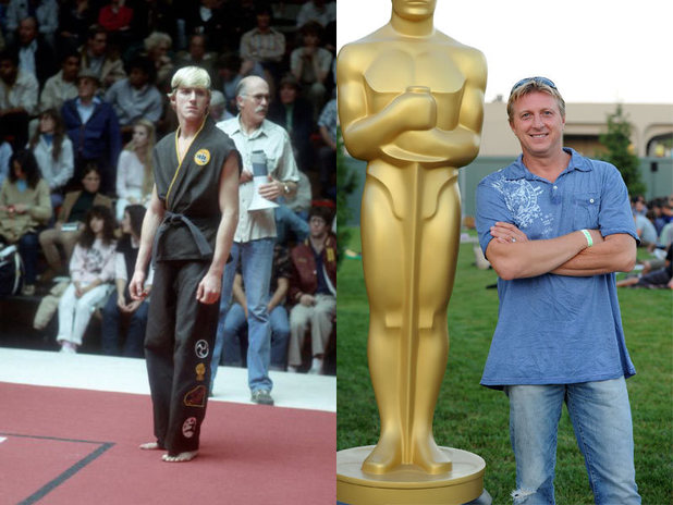 The cast of Karate Kid then and now: William Zabka