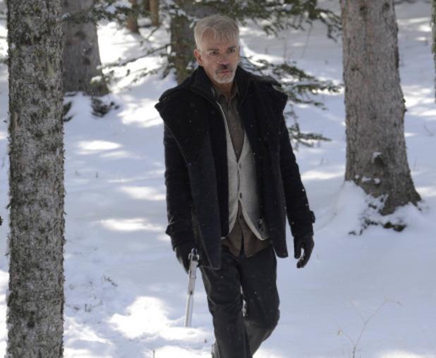 Billy Bob Thornton as Lorne Malvo in Fargo S01E10: 'Morton's Fork'