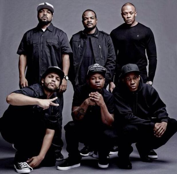 NWA movie Straight Outta Compton: First cast photo