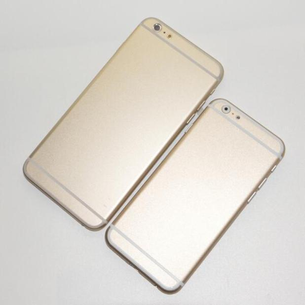 Alleged dummy models of the iPhone 6