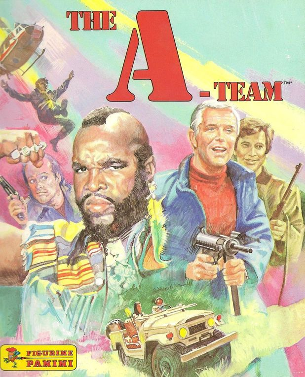 A-Team sticker album