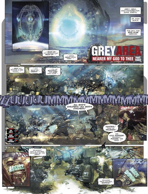 Grey Area - Nearer My God to Thee