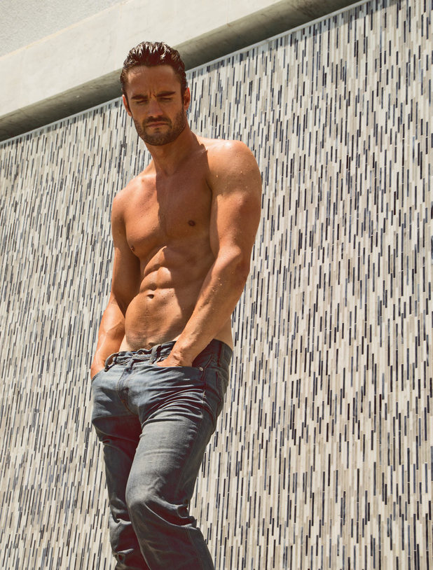 Thom Evans in the July issue of Attitude