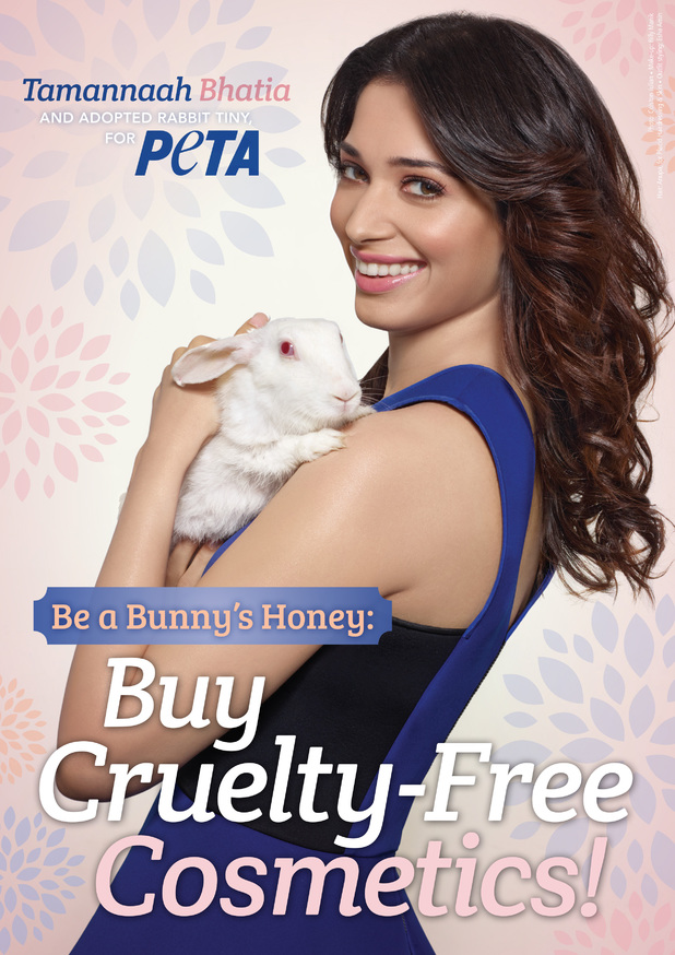 Tamannah Bhatia in new PETA advert