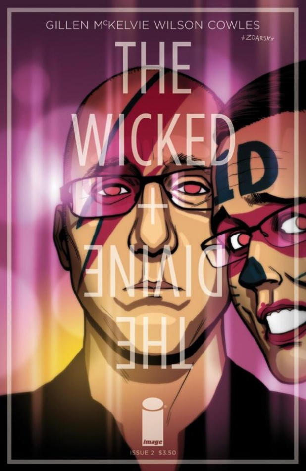 Chip Zdarsky The Wicked + the Divine #2 cover