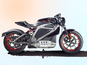 See Harley-Davidson's first electric motorbike