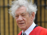 Sir Ian McKellen receives an Honorary Degree at Cambridge University