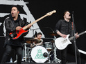 Fall Out Boy perform on Day 3 of The Isle of Wight Festival 2014