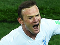 Wayne Rooney celebrates his goal during the 2014 FIFA World Cup match between Uruguay and England