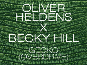Oliver Heldens and Becky Hill  single cover