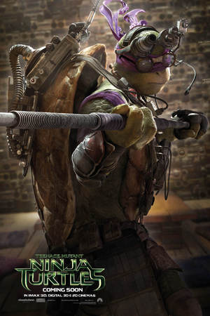 Teenage Mutant Ninja Turtles character poster - Donatello