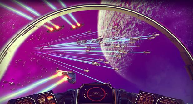 No Man's Sky is a  procedurally-generated sci-fi release by Hello Games