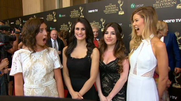 Daytime Emmys red carpet hosts