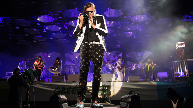 Arcade Fire in Glastonbury headline set
