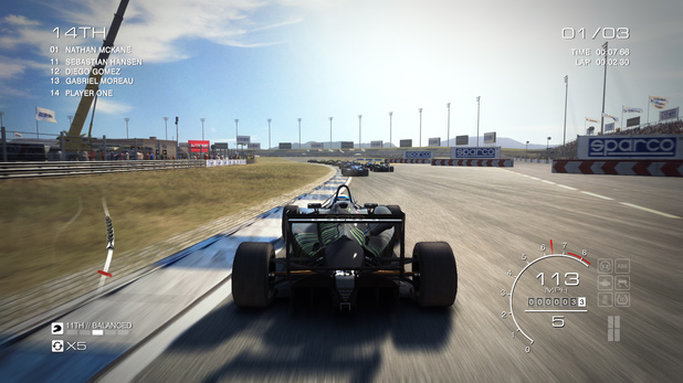 GRID Autosport is available on Xbox 360, PS3 and PC