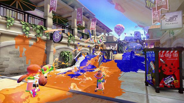 Splatoon is a Wii U exclusive shooter